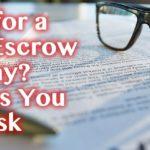 Consumer Escrow Service